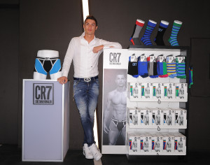 CR7 by Cristiano Ronaldo Underwear Launch -- munichFOTO