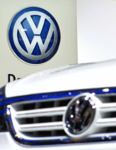 Among carmakers, the Volkswagen Group's flagship VW brand reported an 8.2-per-cent increase, while its French rivals, PSA Peugeot-Citroen and Renault, posted gains of 7.4 per cent and 4.2 per cent respectively. -- photo: dpa