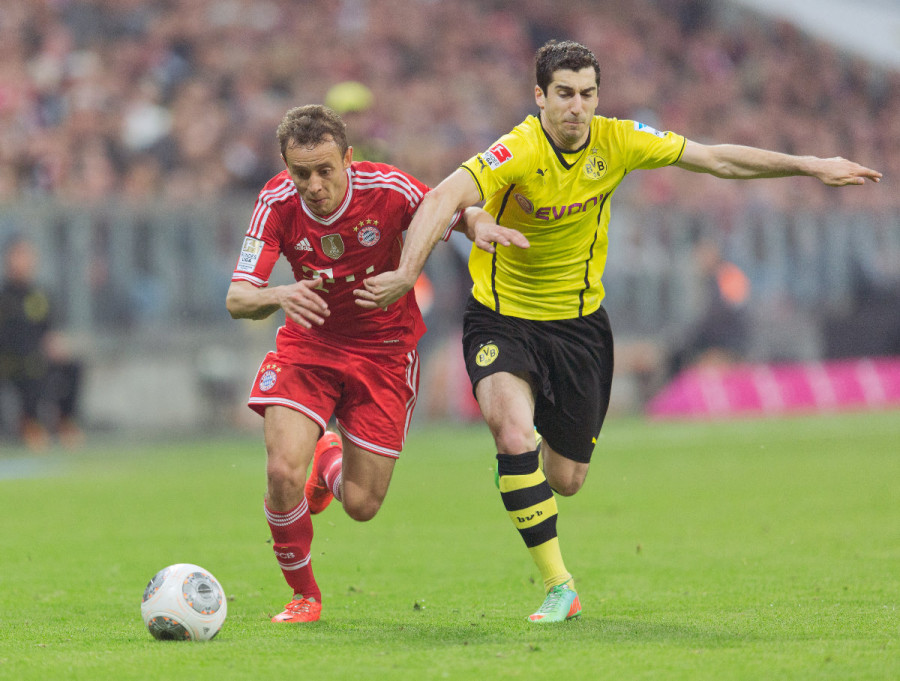 Bayern and Dortmund play tomorrow in Berlin in the German Cup Final -- photo: dpa