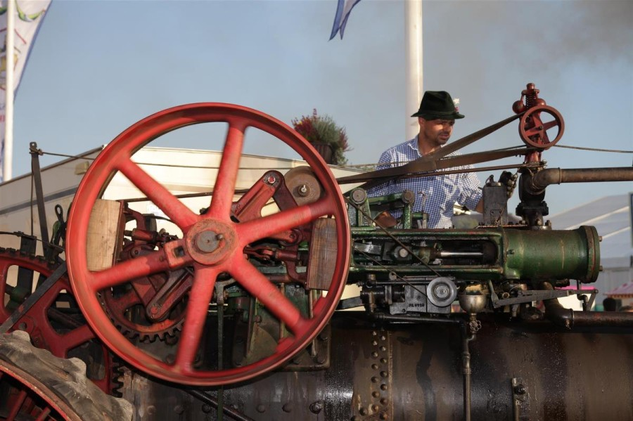 Traditional Bavarian farm equipment and early transportation are also part of the displays -- munichFOTO