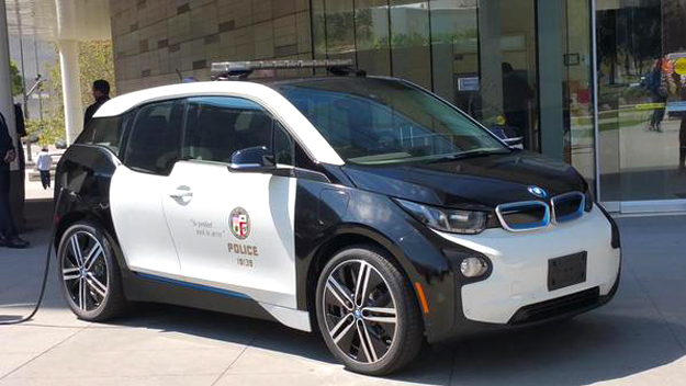 The i3 fitted out for use with the LAPD -- munichFOTO