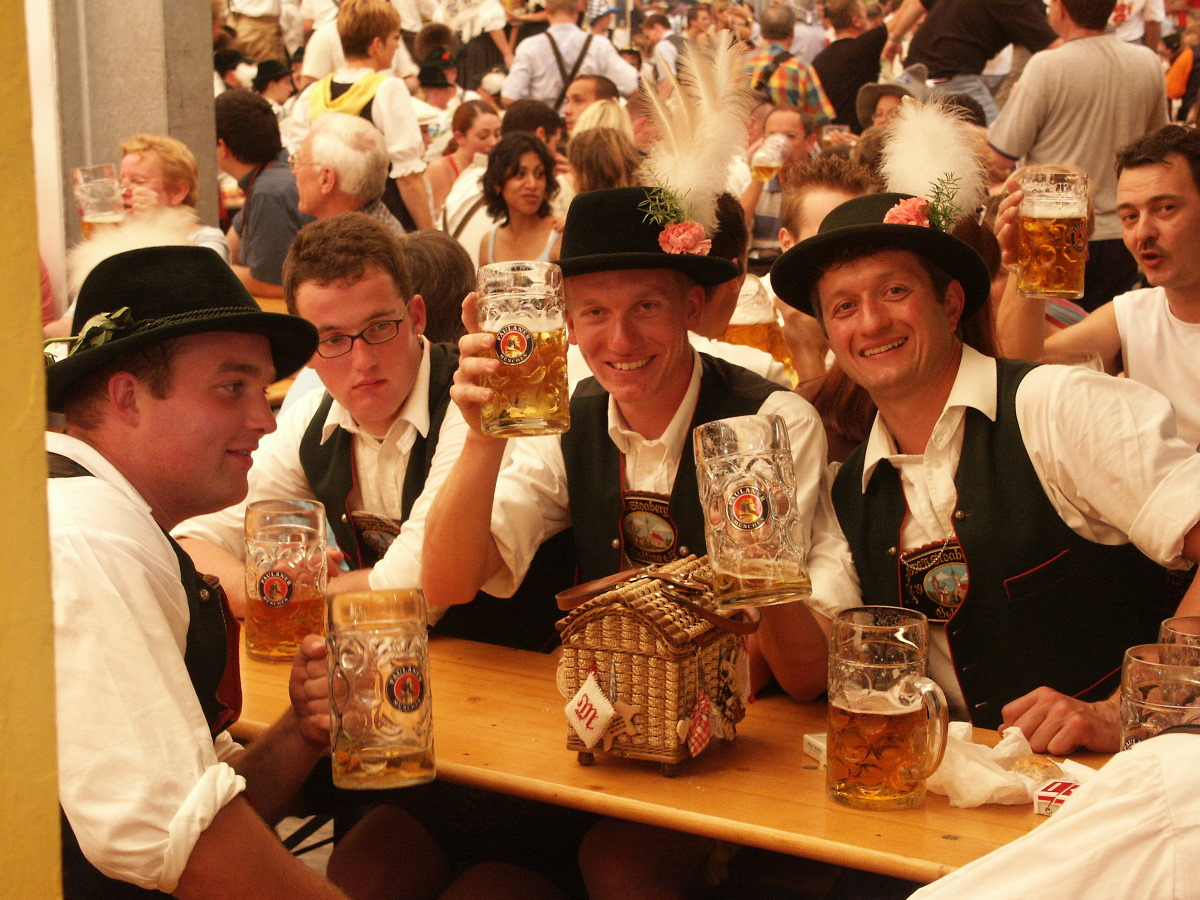 Oktoberfest is the biggest beer festival in the world!