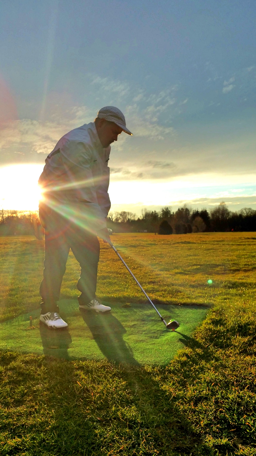 Early spring golf is the best! -- munichFOTO