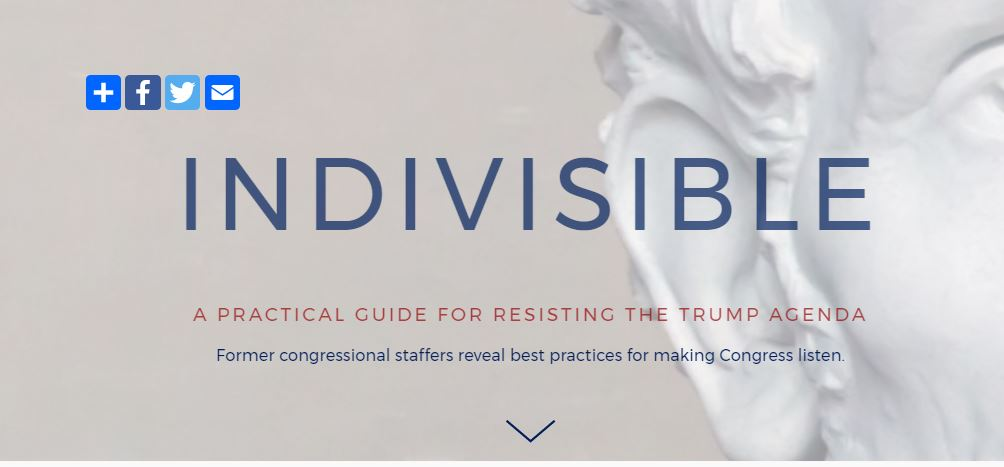 You can sign up for updates at www.IndivisibleGuide.com.