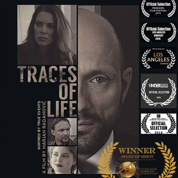 Traces of Life is a short film that recently received the Award of Merit for overall production values by the Accolade Competition