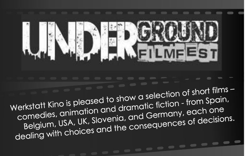 Marjan's film will be playing at The Underground Filmfest which was founded in Munich and quickly spread to other cities with year-round popup events in Cameroon Africa, Birmingham (Alabama), and Beeston, UK.