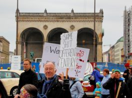 Munich March for Science -- munichFOTO