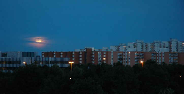 Neuperlach Evening --WikiCommons