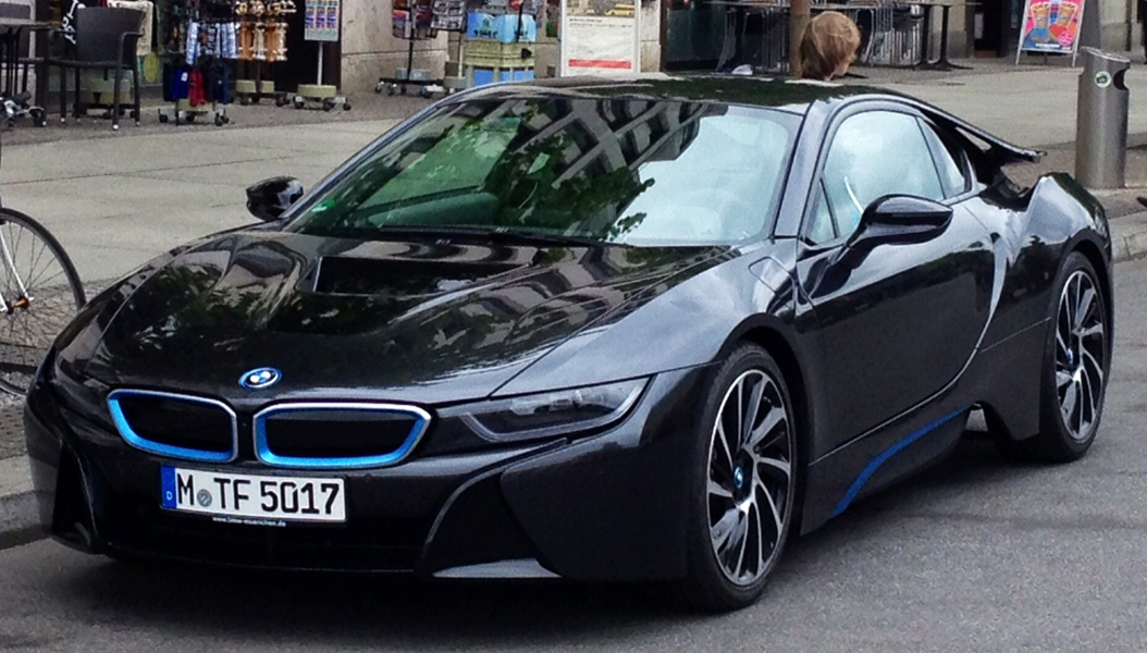 BMW i8 is in excess of $140,000!