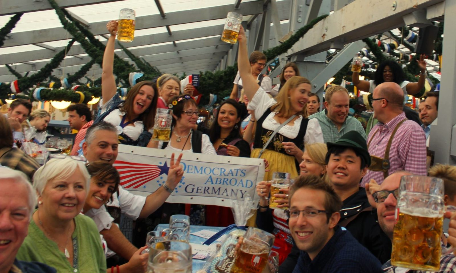 DA Germany at the Oktoberfest
