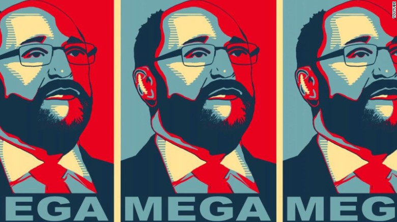 "Schulz's election as leader of the SPD spawned the ""MEGA"" meme (""Make Europe Great Again""), riffing on President Donald Trump's campaign slogan."