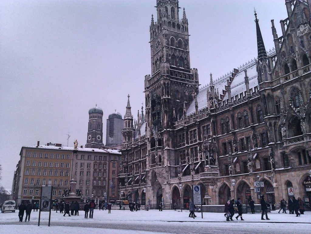 MunichNOW Cold Cold Day In Munich