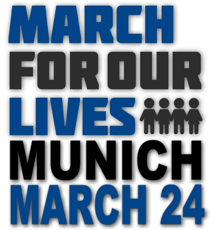 MunichNOW March For Our Lives