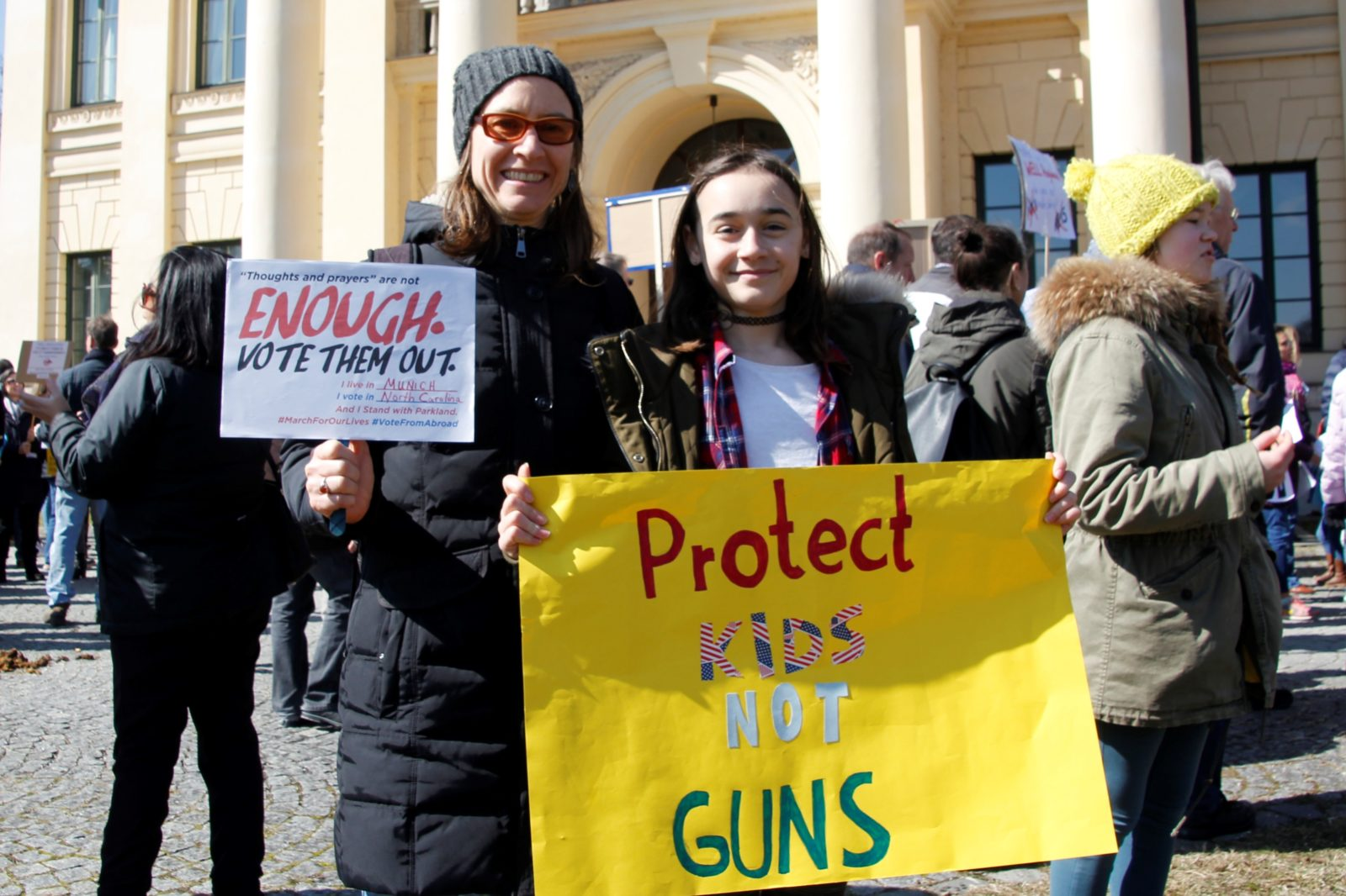 MunichNOW Munich March For Our Lives | Lisa and Greta