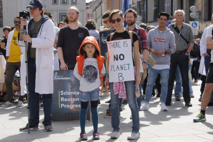 MunichNOW Munich March For Science 2018