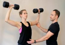 Danielle Curzadd and Simon Conway -- photo: Evolve Fitness