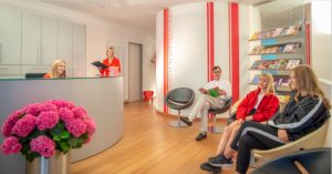 Our modern, full-service clinic is right in the heart of Schwabing