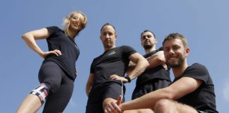 The crew at Evolve Fitness -- munichFOTO