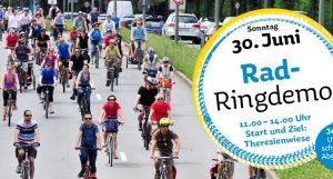Munich Bicycle Referendum is June 30! Photo: MBR