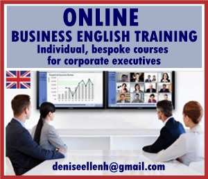 Online Business English Training for corporate executives in diverse sectors. Learn with a qualified, experienced instructor. Sharpen your English skills and become more confident in your business activities.